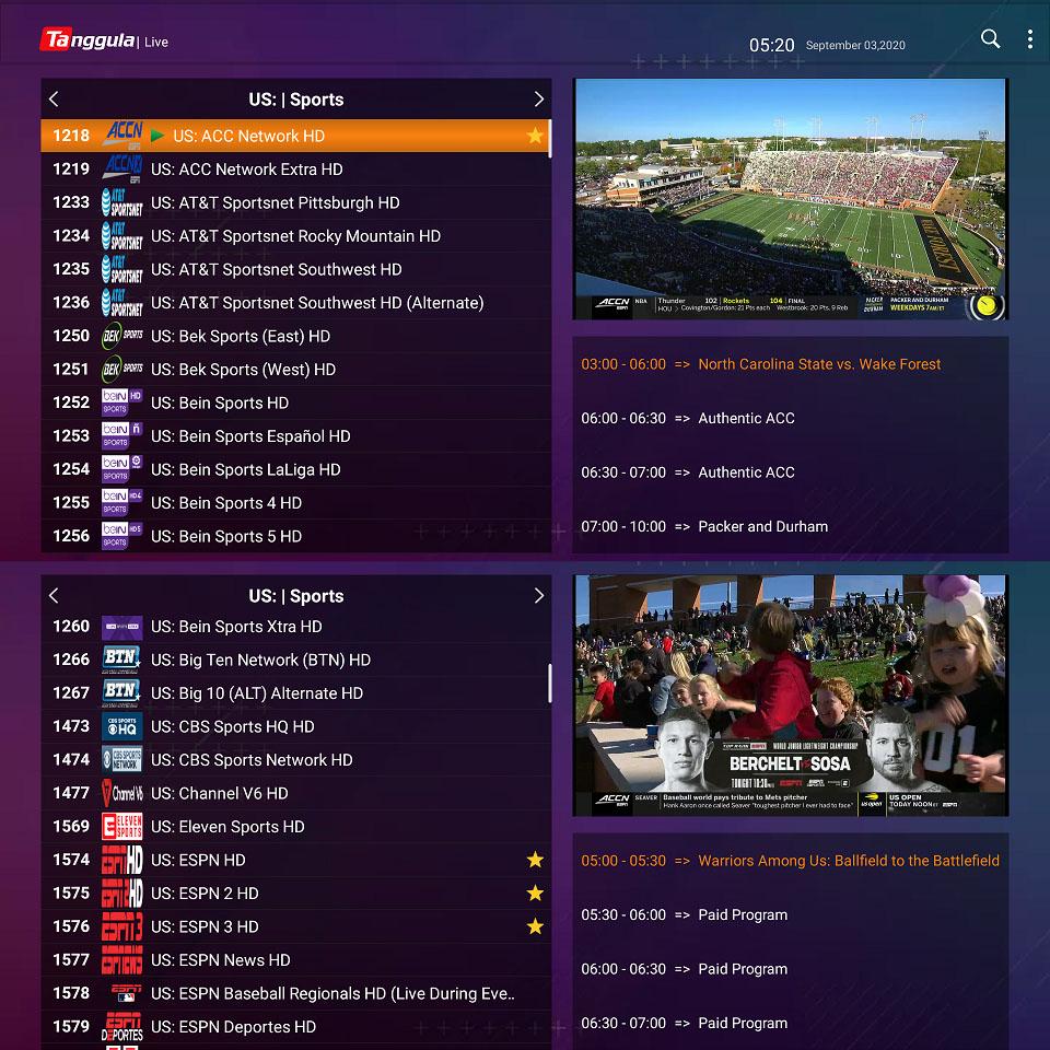 live tv free tanggula